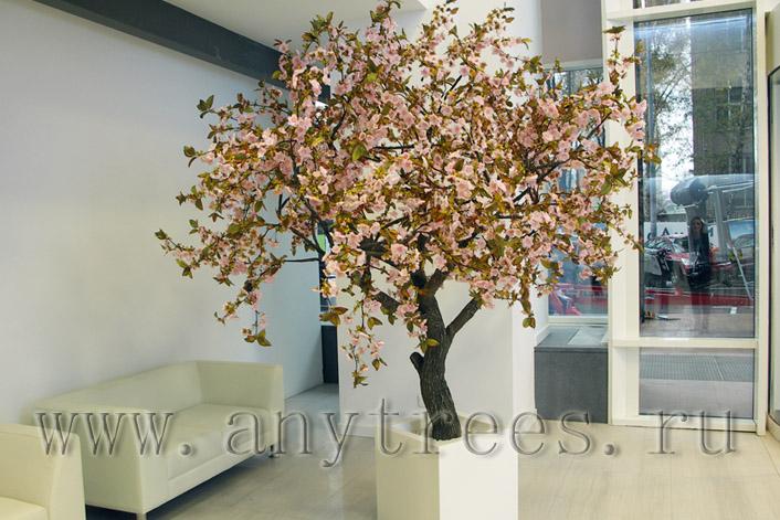 искуственное дерево сакура в аренду