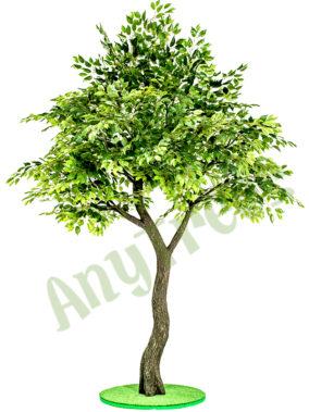 искусственные деревья фикуса в аренду
